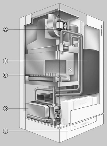 Газовый котел схема электронного